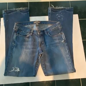 ABERCROMBIE & FITCH EMMA BOOTCUT JEANS SIZE 8R